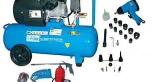 Druckluftkompressor set