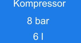 Kompressor 8 bar 6 l