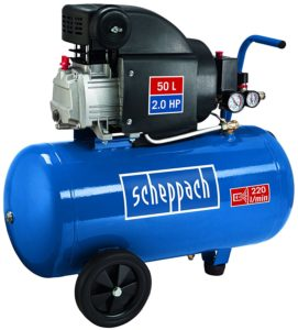 kompressor 8 bar 50 l -Scheppach